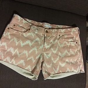 7 for all man kind shorts